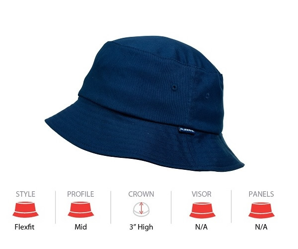 5003 Flexfit Bucket Hat