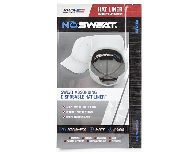 NOSWEAT No Sweat Hat Liner